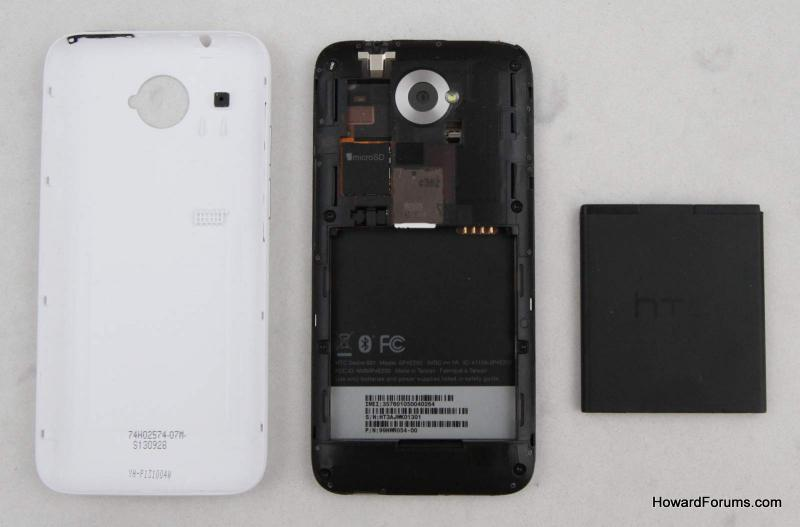 how to take baterry out of htc desire