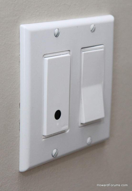 Attachment on Single Pole Light Switch