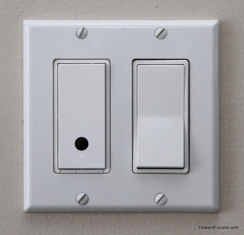 Howardforums your mobile phone community resource our for Wemo light switch