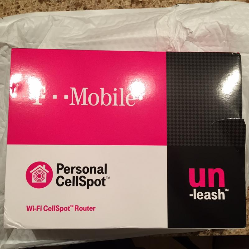T-Mobile CellSpot is here!