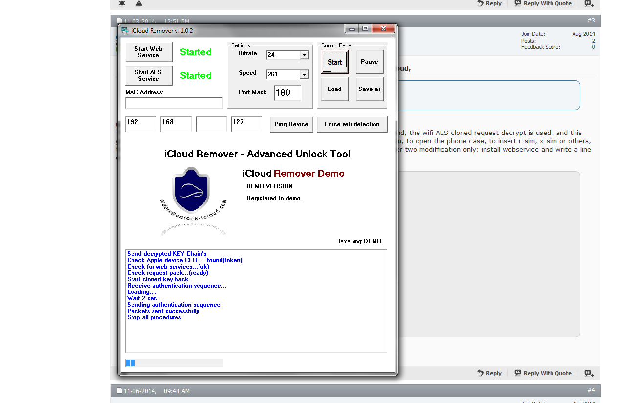 Icloud info and removal, network unlocks through apple GSX account