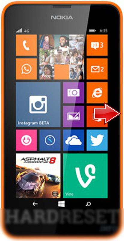 AT&T Unlock AT&T Nokia Lumia 635 Microsoft GoPhone for T-Mobile