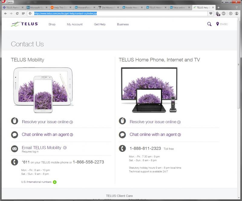 how to get telus to help you