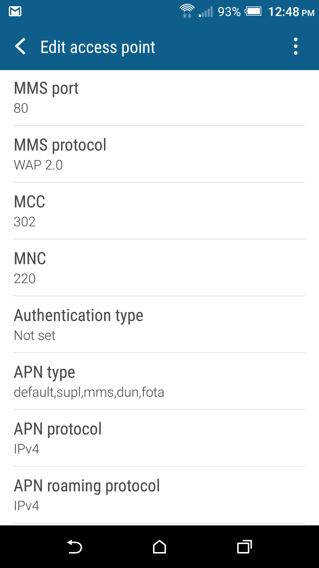 Koodo MMS not working on HTC One M8