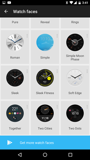 how to check storage huawei watch