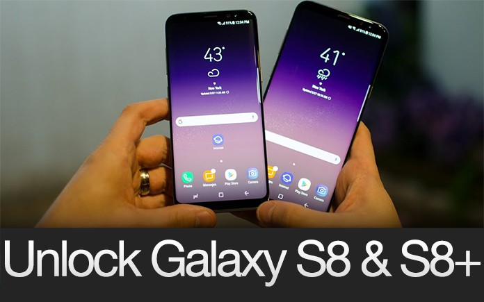 Unlock Sprint Galaxy S8 & 8 Plus Bit 5/3/2/1 G950U & G955U Remotely