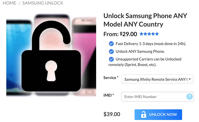 How to Unlock Xfinity Samsung S9+, S9, S8, S8+ S7, S6 & Other Models