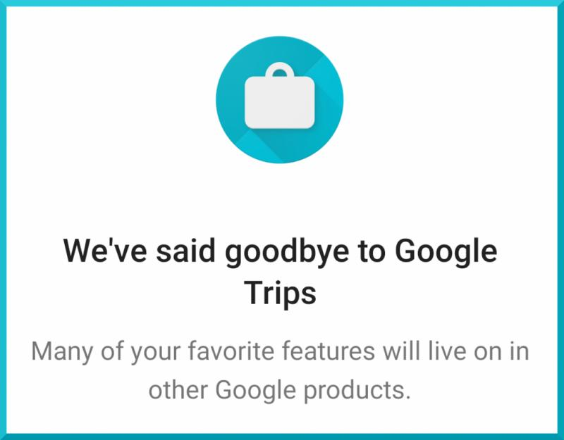 HowardForums: Your Mobile Phone Community & Resource - RIP Google Trips
