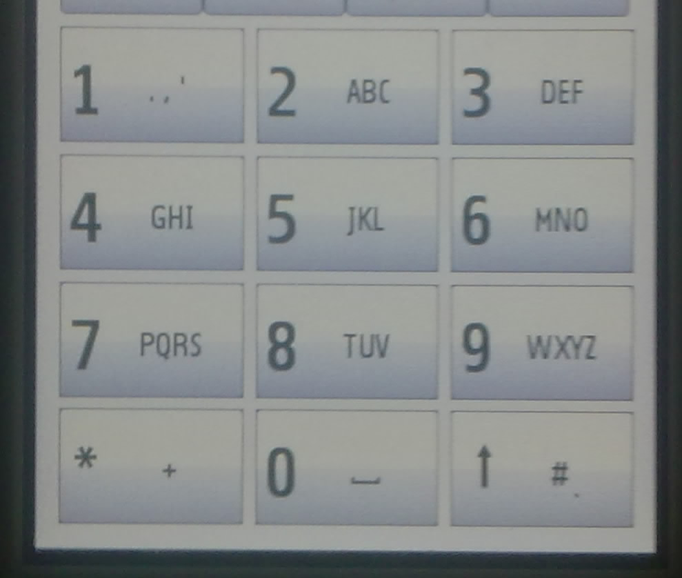 howardforums.com5230 - how to display letters on dial pad?