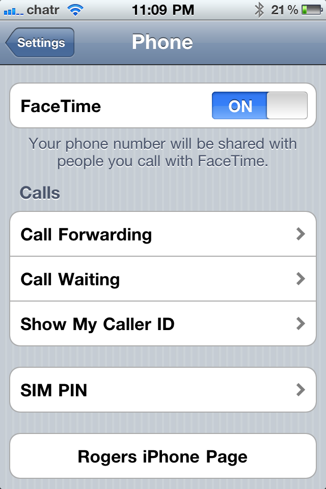 how to get facetime to work on iphone 5