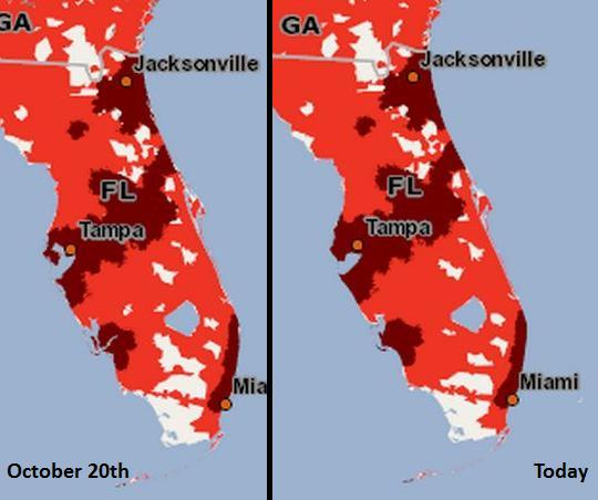 Verizon 3G expansion maps over time