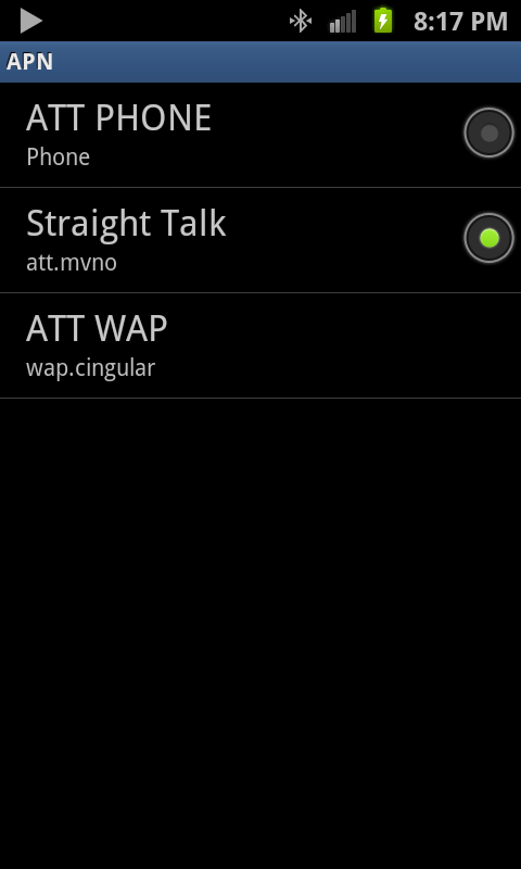If you really need to delete AT&T's APN settings, you can download APN