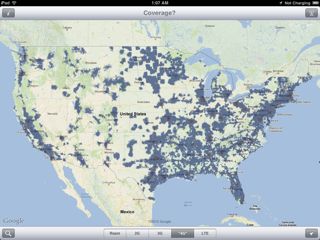 VZW LTE Coverage Map - Us cellular data coverage map