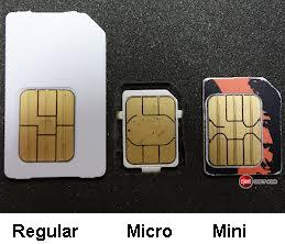 straight talk is displaying a mini sim but calling it a micro