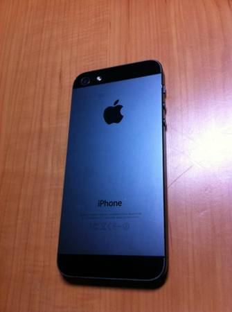 used iphone 5 iphone 5 black slightly used 16 gb at amp t 13209