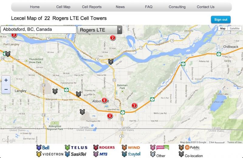 Lousy LTE Coverage In Langley BC And A Few Annoying Dead Spots - Rogers us coverage map
