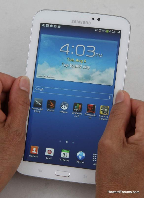"""Is Smaller Better? our Samsung Galaxy Tab 3 7"""" review"""
