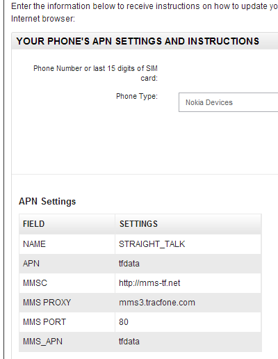 Straight Talk Apn Settings For The Nokia Lumia 520 /page