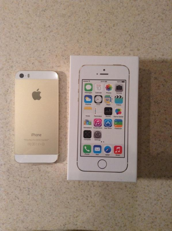 Factory Unlocked Iphone S Gold