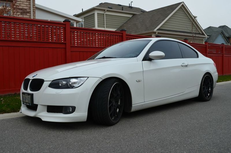 sold f s 2007 bmw 335i 3 series coupe white. Black Bedroom Furniture Sets. Home Design Ideas
